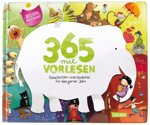 365 x Vorlesen. Buchausgabe